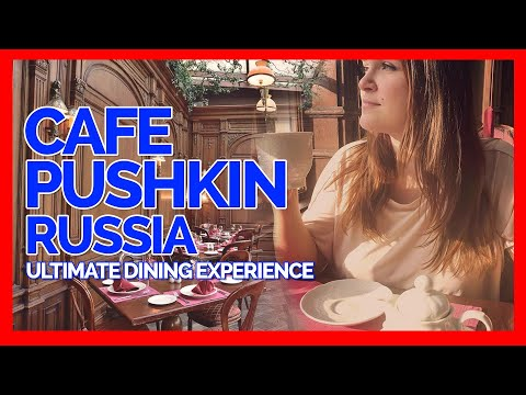 Cafe Pushkin Restaurant| Russia Ultimate Dining Experience | Food Review