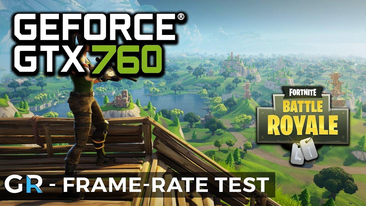 Gtx  Fornite Fortnite Gtx  Frame Rate Benchmark Test P High Settings