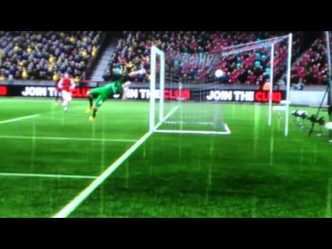 Fifa 13 Newcastle united  ben arfa goal vs Arsenal