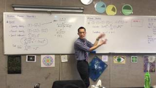 Proving Binomial Identities (2 of 6: Proving harder identities by substitution and using Theorem)