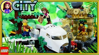 Jungle Exploration Site LEGO City Build the Jungle Review Silly Play Kids Toys