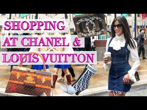 New York Luxury Vlog – Shopping at Chanel, Louis Vuitton & Gucci