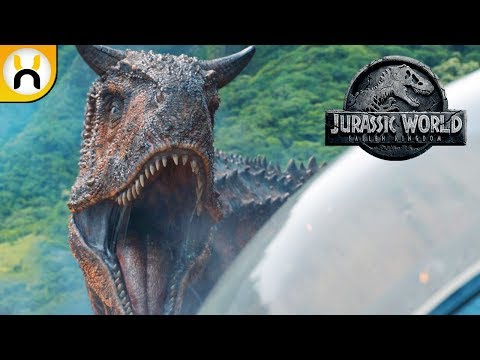 Jurassic World Fallen Kingdom Official Trailer BREAKDOWN & Analysis