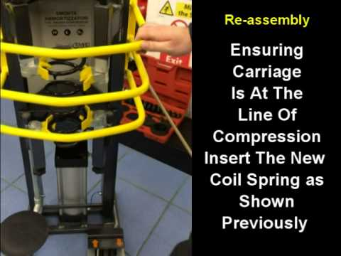 Hercules Air Operated Coil Spring Compressor Instructions Video