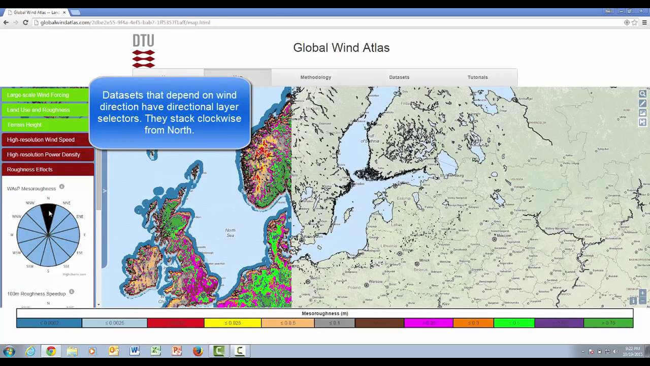 View GWA datasets | Global Wind Atlas - YouTube World Wind Direction Map on