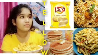 I only ate YELLOW food for 24 Hours😱 | Captain Disha