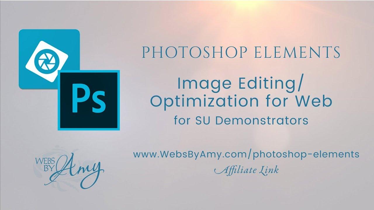 Photoshop Elements for WordPress Image Optimization - YouTub