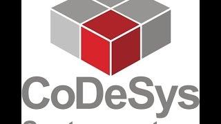 Видео CoDeSys ПЛК Овен язык программирования CFC + визуализация№2