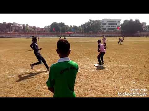 Softball Match Sagar Sambhag vs Jabalpur Sambhag in Indore
