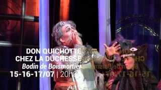 Les coulisses - Don Quichotte - H. Niquet (direction), G. et C. Benizio (mise en scène) - 15/07/2015