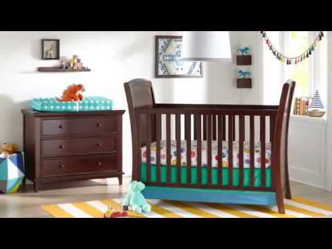 Elise 3-in-1 Convertible Crib | Baby Furniture Sets | Kolcraft Baby