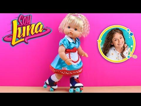 La Bebé Nenuco Daniela quiere los patines de Soy Luna | Set de patinaje para la bebé