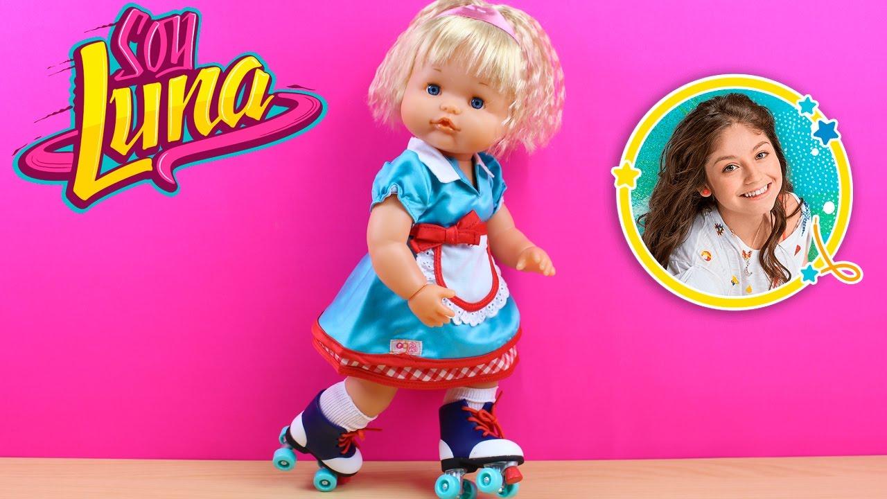 La Bebé Nenuco Daniela quiere los patines de Soy Luna ...