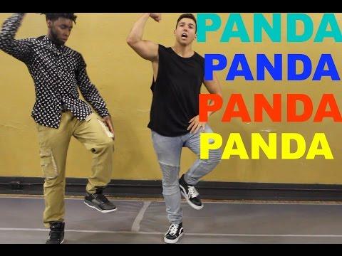 PANDA DANCE TUTORIAL - Choreography | COREY SCHERER