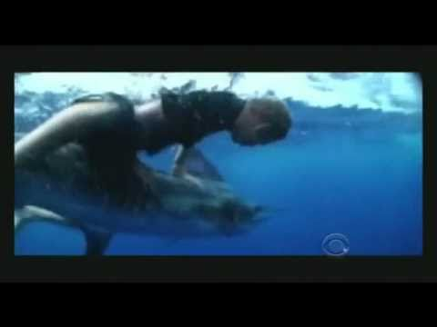Bare Hand Marlin Fishing! Jump From A Helicopter!!