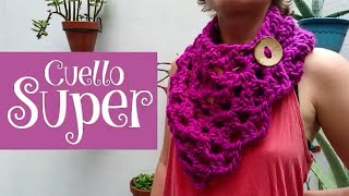 Cuello Super a crochet