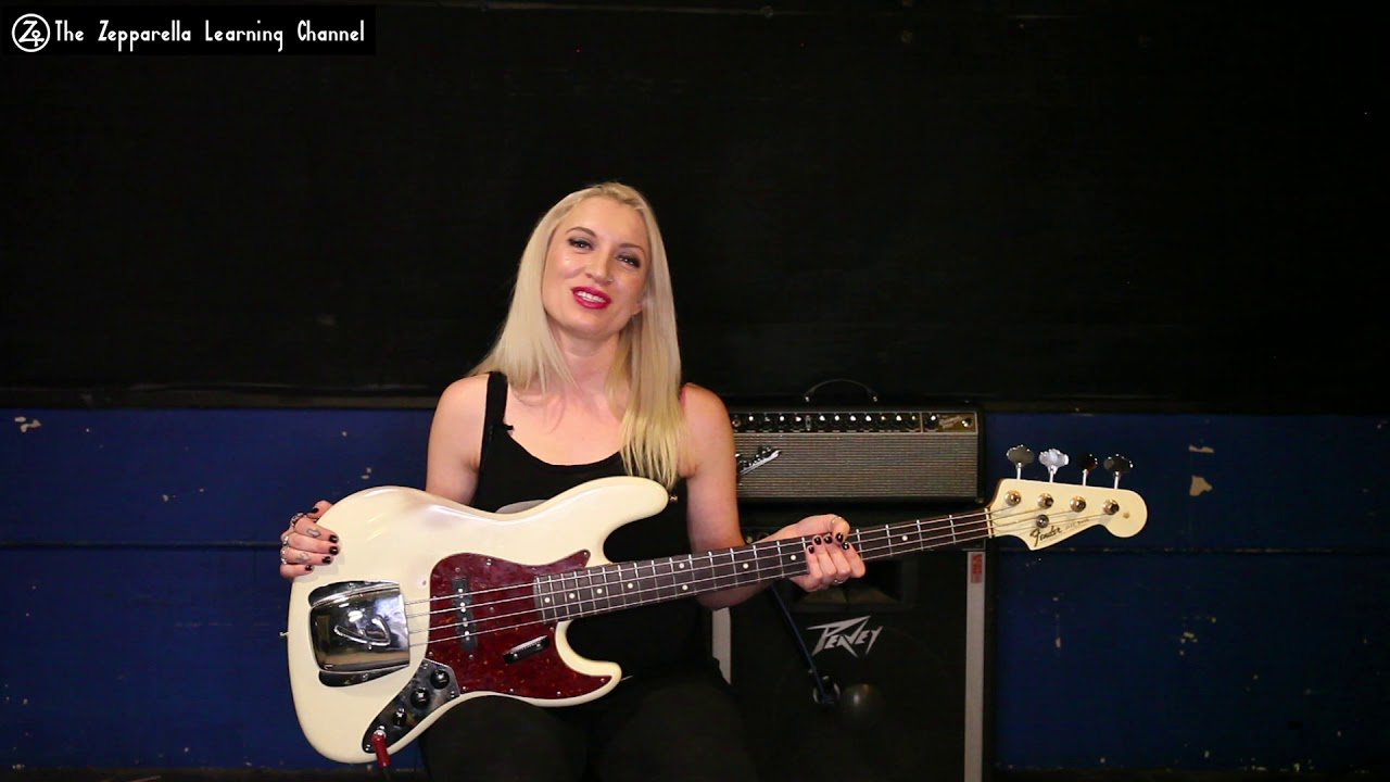 Zepparella Learning Channel - Bassist Holly West Series Introduction