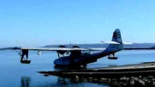 PBY-6A Amphibious Take-off (Part 2/2)