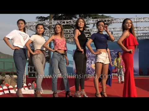 Miss Tibet 2017 Pageant Rehearsal