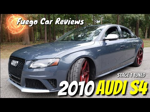 2010 Audi S4 Supercharged Fuego Car review.