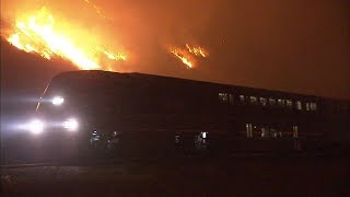 Ventura County fire chars 70 square miles, destroys homes