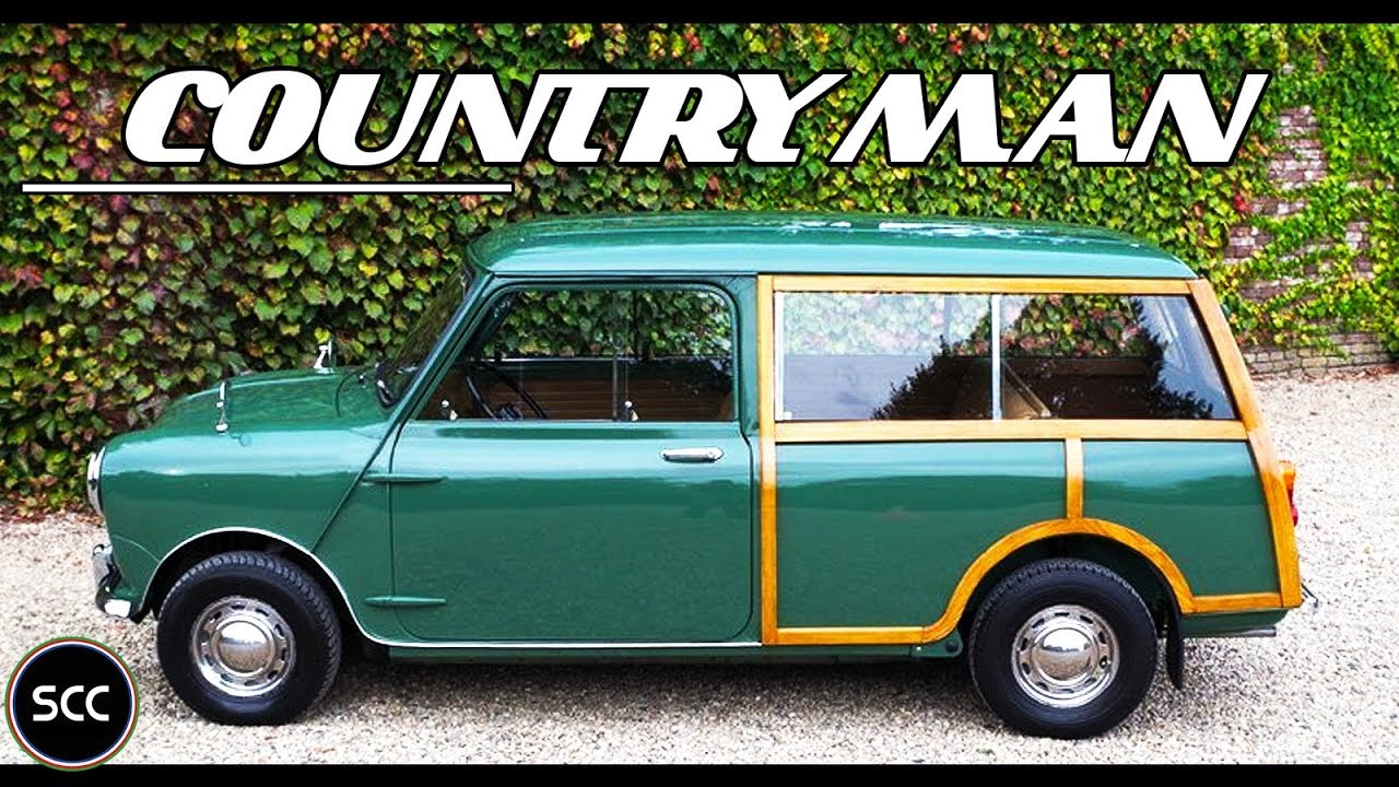 Austin Mini Seven 1000 Countryman Mkii Stationwagon Barn Doors