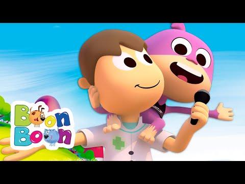 Maimutelul amuzant – Cantece pentru copii BoonBoon – Cantece pentru copii in limba romana