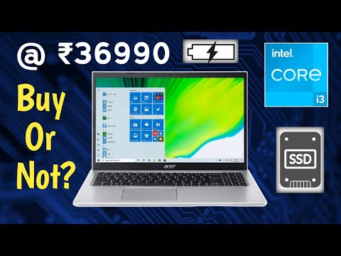 The Best Laptop Under 40000 | acer Aspire 5 Core i3 11th Gen A515-56 Thin and Light Laptop