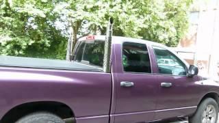 dodge ram 1500 5 7 hemi with custom exhaust stacks www uitlaten com