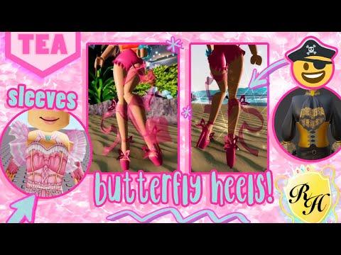 Here S The Butterfly Heels New Sleeves Pirate Set Sneak Peeks