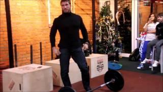 Клоков Дмитрий. Постановка ног в тяжелой атлетике.