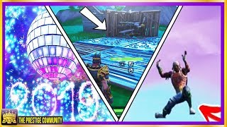 FORTNITE NEW YEARS LIVE EVENT! | INVISIBLE Structures Glitch | Place Devices On A Creative Island!