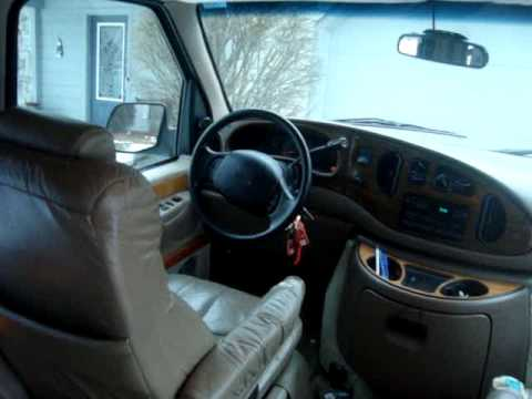 Selling 1997 Ford High Top Conversion Van