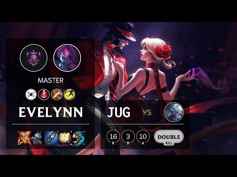 Evelynn Jungle vs Volibear - KR Master Patch 10.19