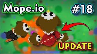 Mope.io - A ÁGUIA TROLL - EAGLE UPDATE - Gameplay #18