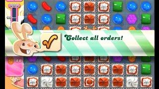 Candy Crush Saga Level 689 walkthrough (no boosters)