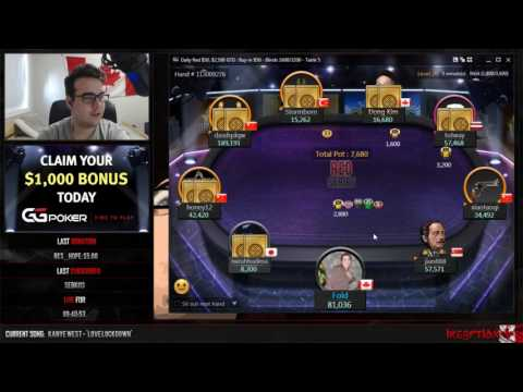 """Daily Red $50 Final Table with """"BDDK"""" Dong Kim!"""