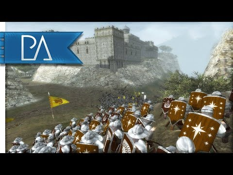 ARNOR UNITED: SIEGE OF CARDOLAN OUTPOST - Third Age Total War Reforged Mod Gameplay