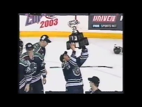Houston Aeros Win Calder Cup - 2003