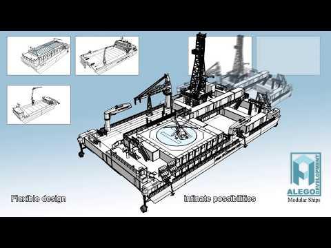 ALEGO Development - Modular Ships