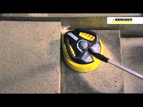 Laveuse de sol karcher t racer 400 youtube for Karcher pour sol interieur