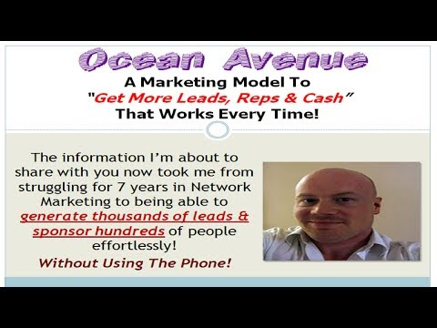Ocean Avenue | How To Get More Leads & Reps Online