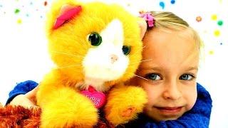 Распаковка - котенок Furreal friends. Идеи для кукол - Мультики для девочек