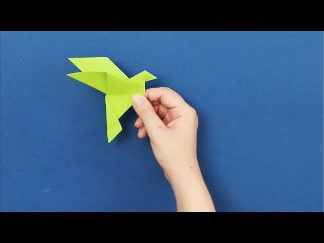 Origami Ptak Z Papieru Youtube