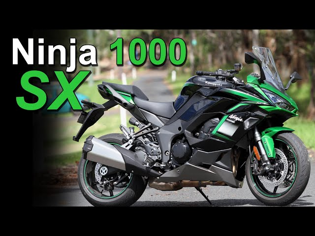 2021 Kawasaki Ninja 1000 SX Review