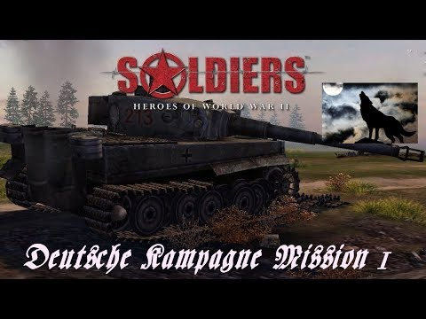 Soldiers Heroes of World War 2 Deutsche Kampagne Mission 1