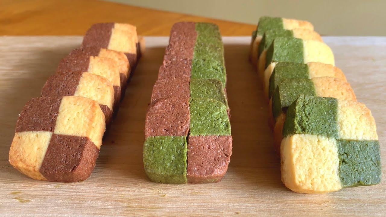 お家で簡単!3種類のアイスボックスクッキーの作り方