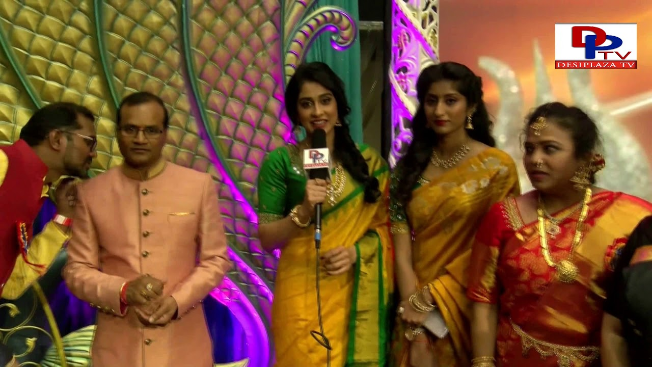 Regina Cassandra Speaking to Desiplaza TV at TPAD Bathukamma Sambaralu - 2017