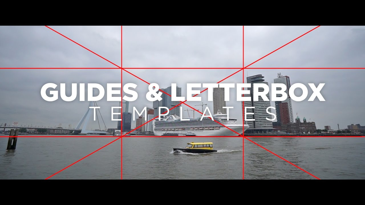 Guides letterbox templates tutorial for premiere pro by chung guides letterbox templates tutorial for premiere pro by chung dha youtube spiritdancerdesigns
