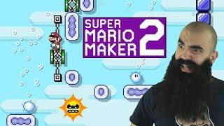 Mario Maker 2: No Skip Endless Super Expert Challenge #11 - Getting OVER it!